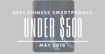 لیست 5 گوشی چینی زیر 500 دلار در ماه مه 2019
