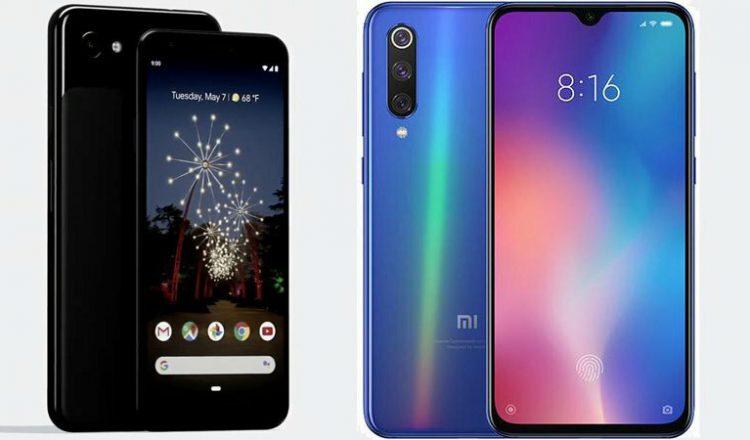 مقایسه گوشی های Google Pixel 3a و Xiaomi Mi 9 SE