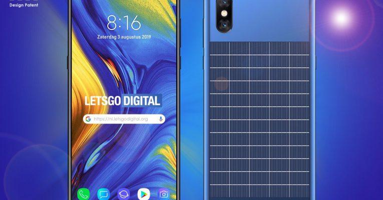 شیائومی یک پتنت گوشی با پنل خورشیدی در پشت را به ثبت رسانید