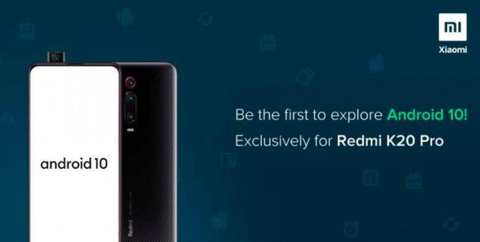 برنامه ارائه آپدیت نسخه بتای اندروید 10 پایدار برای گوشی Redmi K20 Pro آغاز شد