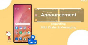 نسخه گلوبال گوشی های شیائومی با برنامه Google Phone و Messages عرضه می شوند