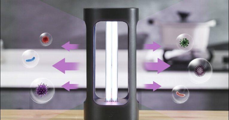 شیائومی روی لامپ ضدعفونی کننده پنج هوشمند با قیمت 149 یوان (تقریباً 21 دلار) سرمایه گذاری کرد